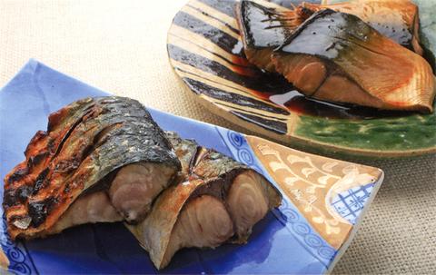 サバの煮つけ、塩焼き